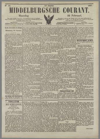 Middelburgsche Courant 1897-02-22