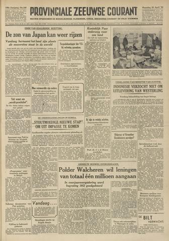 Provinciale Zeeuwse Courant 1952-04-28
