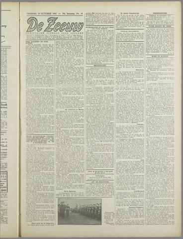 De Zeeuw. Christelijk-historisch nieuwsblad voor Zeeland 1943-10-19