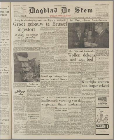 de Stem 1962-09-18