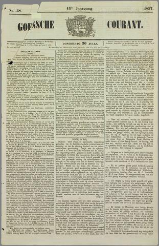 Goessche Courant 1857-07-30