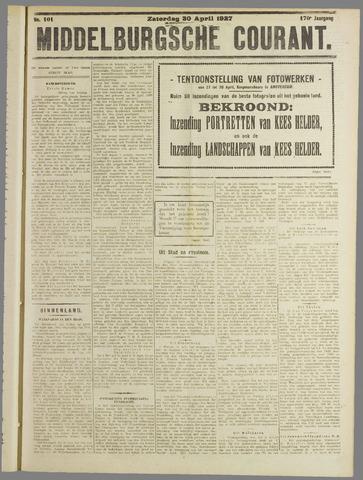 Middelburgsche Courant 1927-04-30