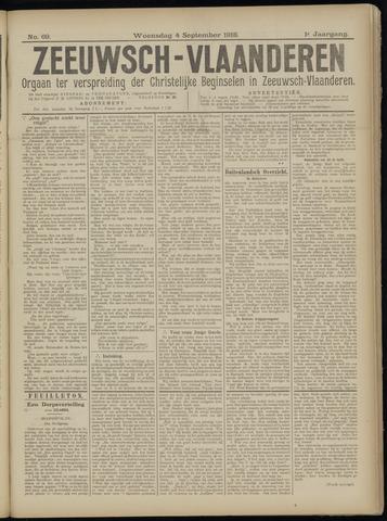 Luctor et Emergo. Antirevolutionair nieuws- en advertentieblad voor Zeeland / Zeeuwsch-Vlaanderen. Orgaan ter verspreiding van de christelijke beginselen in Zeeuwsch-Vlaanderen 1918-09-04