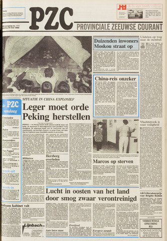 Provinciale Zeeuwse Courant 1989-05-20