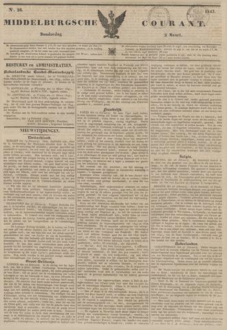 Middelburgsche Courant 1843-03-02