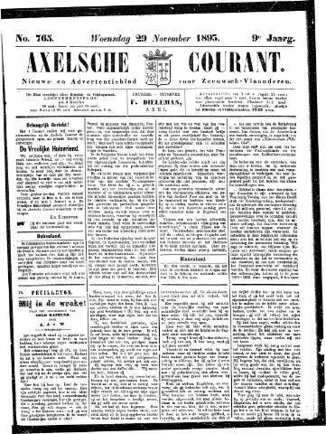 Axelsche Courant 1893-11-29