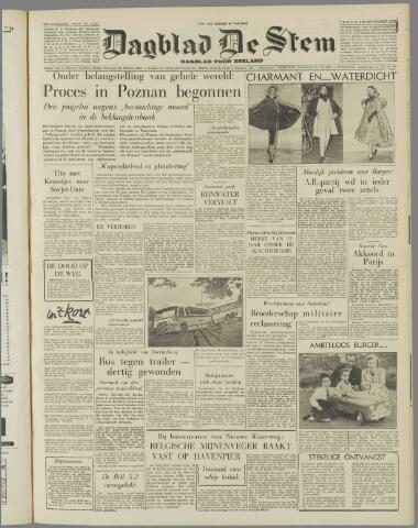 de Stem 1956-09-28