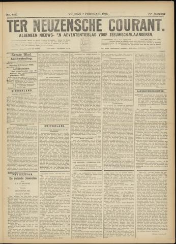 Ter Neuzensche Courant. Algemeen Nieuws- en Advertentieblad voor Zeeuwsch-Vlaanderen / Neuzensche Courant ... (idem) / (Algemeen) nieuws en advertentieblad voor Zeeuwsch-Vlaanderen 1930-02-07