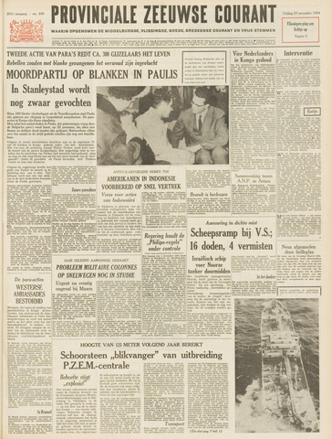 Provinciale Zeeuwse Courant 1964-11-27