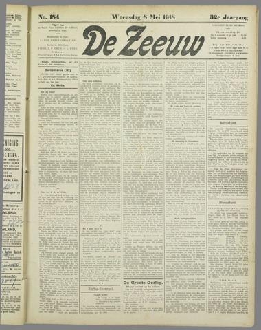 De Zeeuw. Christelijk-historisch nieuwsblad voor Zeeland 1918-05-08