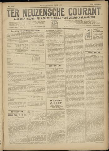 Ter Neuzensche Courant. Algemeen Nieuws- en Advertentieblad voor Zeeuwsch-Vlaanderen / Neuzensche Courant ... (idem) / (Algemeen) nieuws en advertentieblad voor Zeeuwsch-Vlaanderen 1931-06-24