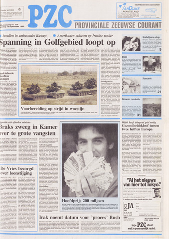 Provinciale Zeeuwse Courant 1990-09-15