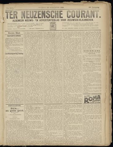 Ter Neuzensche Courant. Algemeen Nieuws- en Advertentieblad voor Zeeuwsch-Vlaanderen / Neuzensche Courant ... (idem) / (Algemeen) nieuws en advertentieblad voor Zeeuwsch-Vlaanderen 1929-08-30