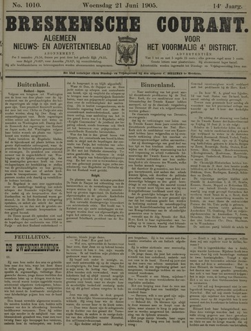 Breskensche Courant 1905-06-21