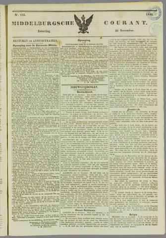 Middelburgsche Courant 1846-12-26