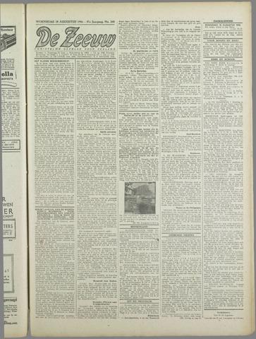 De Zeeuw. Christelijk-historisch nieuwsblad voor Zeeland 1943-08-18