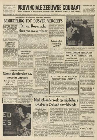 Provinciale Zeeuwse Courant 1962-01-29