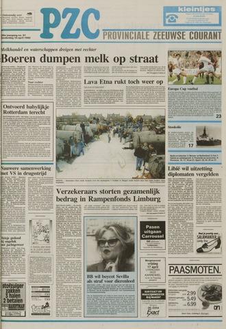 Provinciale Zeeuwse Courant 1992-04-16