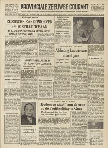 Provinciale Zeeuwse Courant 1960-01-09