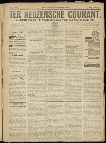 Ter Neuzensche Courant. Algemeen Nieuws- en Advertentieblad voor Zeeuwsch-Vlaanderen / Neuzensche Courant ... (idem) / (Algemeen) nieuws en advertentieblad voor Zeeuwsch-Vlaanderen 1929-12-23