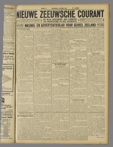 Nieuwe Zeeuwsche Courant 1926-10-07