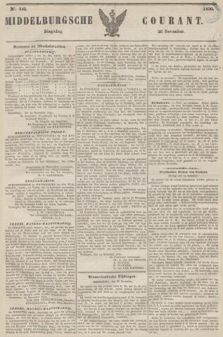 Middelburgsche Courant 1850-11-26