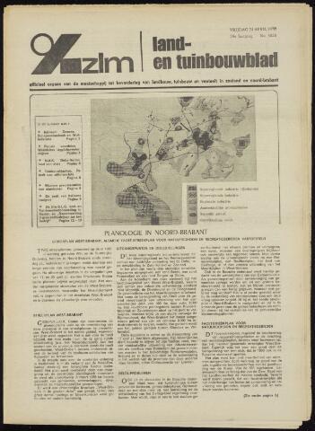 Zeeuwsch landbouwblad ... ZLM land- en tuinbouwblad 1970-04-22