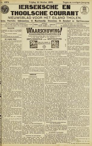 Ierseksche en Thoolsche Courant 1932-10-14