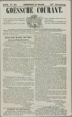 Goessche Courant 1864-03-31