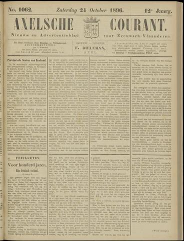 Axelsche Courant 1896-10-24