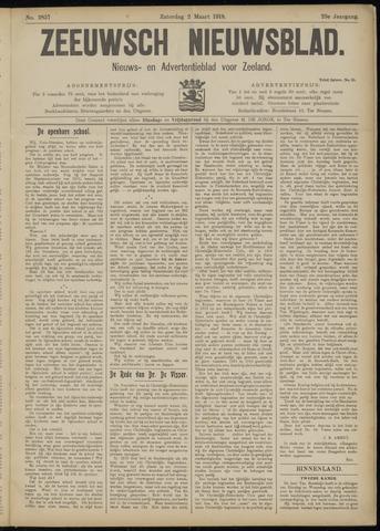 Ter Neuzensch Volksblad. Vrijzinnig nieuws- en advertentieblad voor Zeeuwsch- Vlaanderen / Zeeuwsch Nieuwsblad. Nieuws- en advertentieblad voor Zeeland 1918-03-02