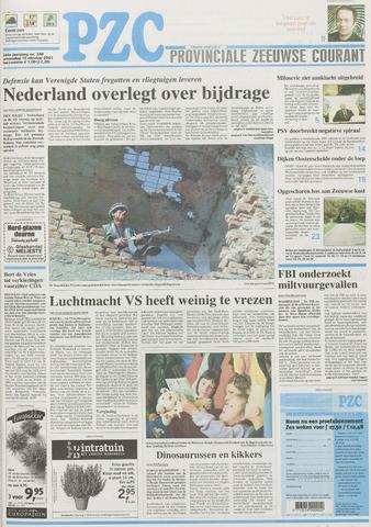 Provinciale Zeeuwse Courant 2001-10-10
