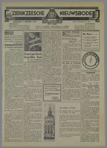 Zierikzeesche Nieuwsbode 1937-01-04