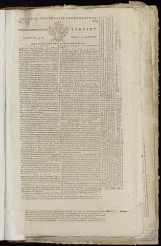 Middelburgsche Courant 1799-10-22
