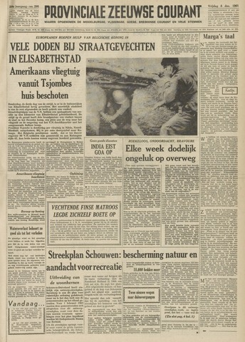 Provinciale Zeeuwse Courant 1961-12-08
