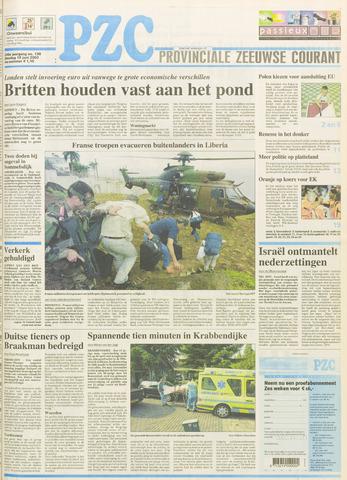 Provinciale Zeeuwse Courant 2003-06-10
