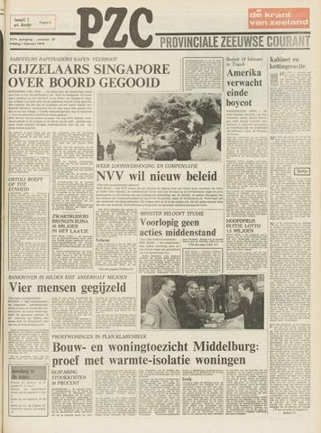 Provinciale Zeeuwse Courant 1974-02-01
