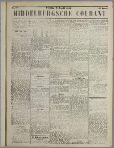 Middelburgsche Courant 1919-04-04