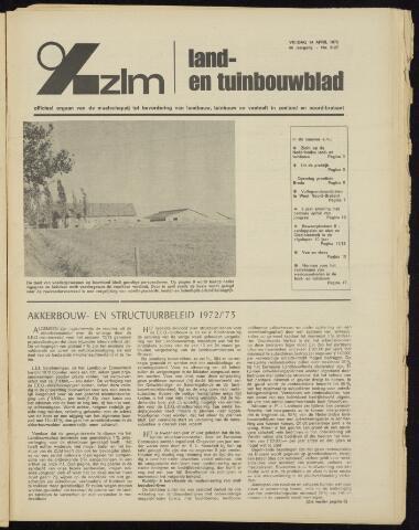 Zeeuwsch landbouwblad ... ZLM land- en tuinbouwblad 1972-04-14