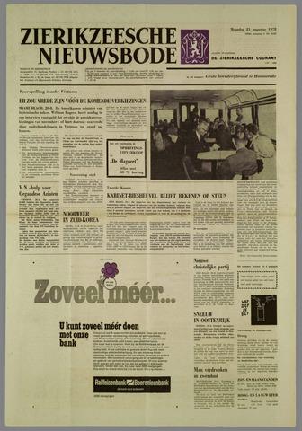 Zierikzeesche Nieuwsbode 1972-08-21