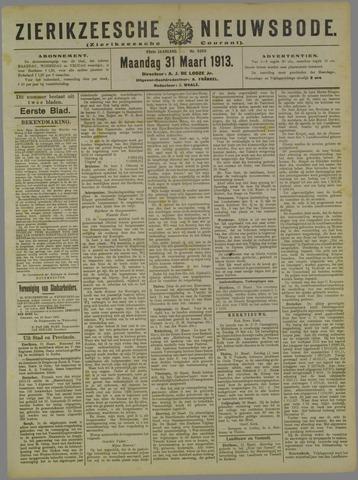 Zierikzeesche Nieuwsbode 1913-03-31