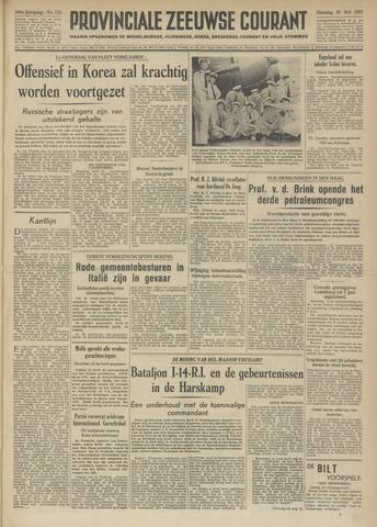 Provinciale Zeeuwse Courant 1951-05-29