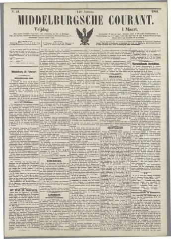 Middelburgsche Courant 1901-03-01