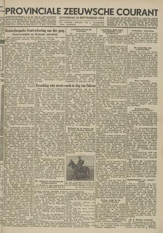 Provinciale Zeeuwse Courant 1943-09-18