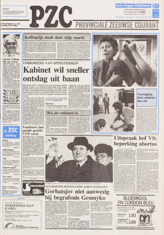 Provinciale Zeeuwse Courant 1989-07-04
