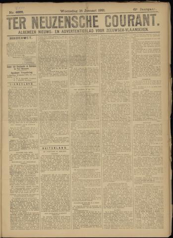 Ter Neuzensche Courant. Algemeen Nieuws- en Advertentieblad voor Zeeuwsch-Vlaanderen / Neuzensche Courant ... (idem) / (Algemeen) nieuws en advertentieblad voor Zeeuwsch-Vlaanderen 1921-01-26