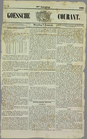 Goessche Courant 1861-01-07