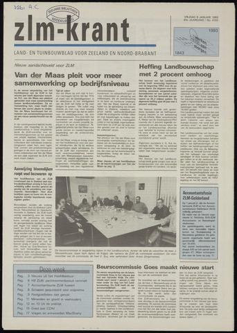 Zeeuwsch landbouwblad ... ZLM land- en tuinbouwblad 1993-01-08