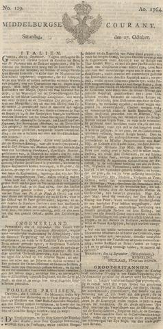 Middelburgsche Courant 1764-10-27