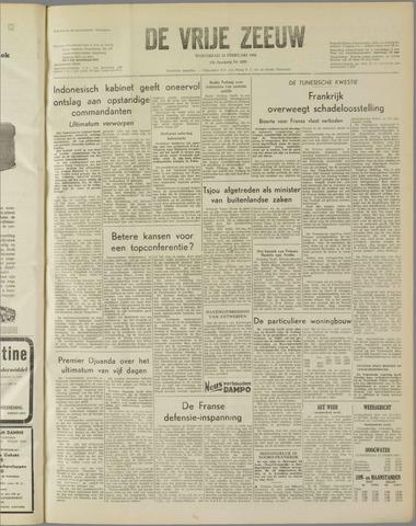 de Vrije Zeeuw 1958-02-12
